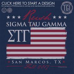 Sigma Tau Gamma | ΣTΓ | Fall Rush | Rush Shirt | TGI Greek | Greek Apparel | Custom Apparel | Fraternity Tee Shirts | Fraternity T-shirts | Custom T-Shirts
