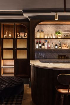 bar design | wooden panelling | BUENA VISTA HOTEL IN MOSMAN, AUSTRALIA BY SJB INTERIORS & TESS REGAN DESIGN