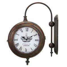 Winston Wall Clock - Industrial Elements