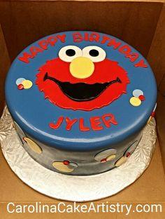 Cute Elmo cake!!!