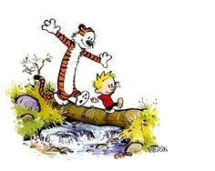 Calvin and Hobbes so-cute Calvin And Hobbes Tattoo, Calvin And Hobbes Comics, Calvin And Hobbes Wallpaper, Calvin And Hobbes Quotes, Infanta Margarita, Old Posters, Baby Posters, Beste Comics, Little Buddha