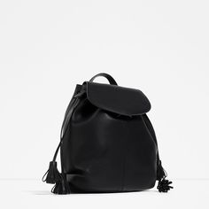 ZARA - SALE - TASSEL BACKPACK