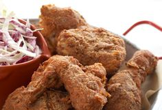 Flash-Fried Finger-Lickin' Chicken Recipe from Now Eat This! by Rocco DiSpirito