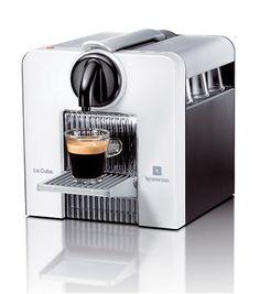 Nespresso Le Cube Automatic Espresso Machine, Arctic White C180W
