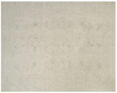 #15150 Origin:Afghanistan Design:Polonaise Design Size:10' x 14' Sqft:140′ Color:White