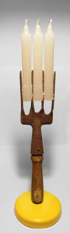 fork candle