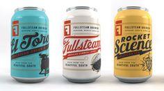 Fullsteam Brewery Cans :: Helms Workshop