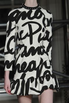 oncethingslookup: Moschino Cheap And Chic Fall 2013 RTW