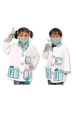 Melissa & Doug 'Doctor' Costume (Toddler) available at #Nordstrom
