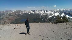On Top Of Mammoth Mountain overlooking George Lake