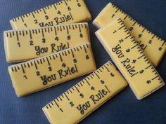 Jenny Kirk Pichardo: for Teacher Appreciation Week, 'You Rule' rulers.