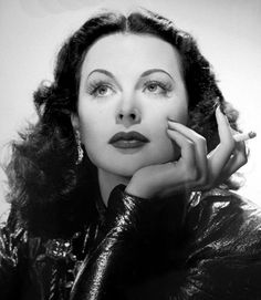 This stunning woman also earned a patent designing a system used for aerial bomb-dropping guidance during WWII and which also helps with today's GPS.--CH Hedy Lamarr