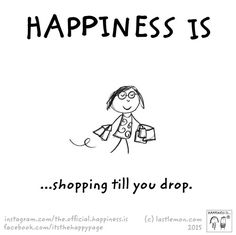 #Happiness is...#shopping till you drop! #quotes #quoteoftheday #noregrets #flyfree #enjoylife #shoplocal #adaniasboutique #fashionhunter #fashionbloggers