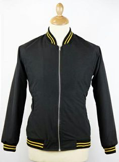 A casual Mod Clothing classic, the Madcap England Monkey Jacket is back in black with yellow tipping and rocking in Royal with Red and White contrast... http://www.atomretro.com/product_info.cfm?product_id=12581 http://www.atomretro.com/product_info.cfm?product_id=12586