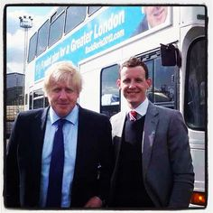 Boris and Tom on the campaign trail!