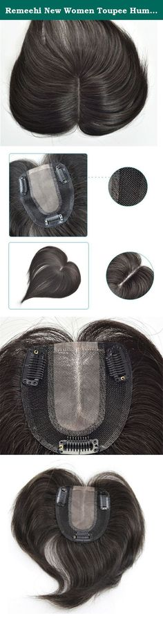 Remeehi New Women Toupee Human Hair Extension Lace Hair Piece Top Closure Wig Topper Hand Tied Hairpieces Toupee Tape Hair Bun(Dark Brown 15cm). Dear customer: Lace Size :9*10cm All natural colors are available. Customized women toupee high quality Brazilian hair women topper/ toupee/ hair piece/ fine mono Hair texture: 100% human hair Hair length: 15-50cm We ship the item via China Post,usually 7-15 days you can receive the package .