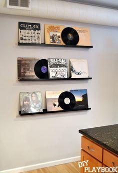 Ryan's Record Wall