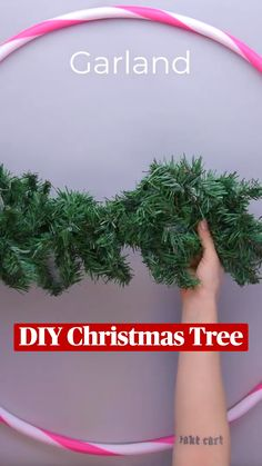 Christmas Projects, Christmas Home, Holiday Crafts, Xmas, Diy Christmas Garland, Diy Garland, Christmas Decorations, Diy Crafts Hacks, Diy Crafts For Kids
