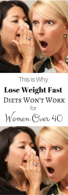 Lose Weight Fast? Not going to happen and here's why...