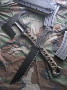 Custom Knives and Swords and Tomahawks.