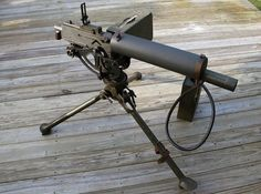 M1917 H2O cooled machine gun .30 cal. One of my best friends used one like this on Guadalcanal with the 1st Marine Division.  He also fought at New Britain and Peleliu. He is gone now, but I had the honor of calling him friend for many years.