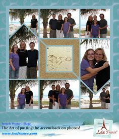 Photo Collage Created by Becky, Lea France designer using Digital Stained Glass. Love these collages!