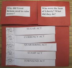 Classroom Magic: Taxation Without Representation (American Revolution Foldable)
