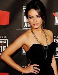 Mila.....She was great in Friends with Benefits