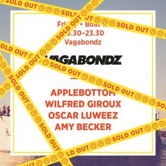 Friday Boat 12 - Vagabondz *Sold Out*