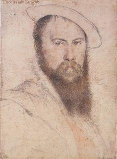 Sir Thomas Wyatt, my 13th great grandfather.