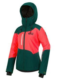 250f0a03e585 Vestes ski Weekend Jkt Emerald de marque Picture Organic Clothing en vente  sur Snowleader (The