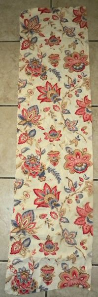 Sweet Antique French Cotton Pillow Fabric Jacobean by RuinsCa, $42.00