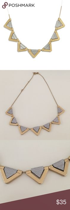 Madewell necklace Trendy Madewell necklace. Worn but in great condition! Madewell Jewelry Necklaces