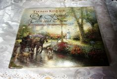 THOMAS KINCAIDE PAINTER OF LIGHT 2011 SEARS LIMITED EDITION ORNAMENT NEW IN BOX