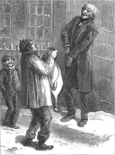 """December 24, It was a Turkey! He never could have stood upon his legs, that bird. He would have snapped 'em short off in a minute, like sticks of sealing-wax. """"Why, it's impossible to carry that to Camden Town,"""" said Scrooge. """"You must have a cab.""""  Charles Dickens, A Christmas Carol"""
