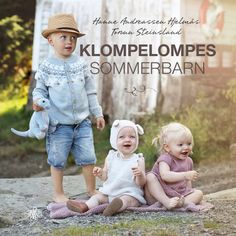 Klompelompes sommerbarn Dere, Knitting For Kids, Pixie, Crochet Hats, Baby, Knitting Hats, Babys, Baby Humor, Baby Baby