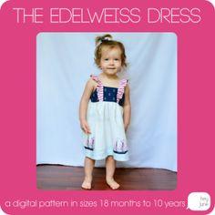 The Edelweiss Dress Pattern