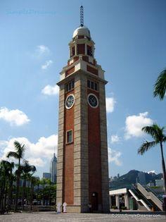 Former Kowloon-Canton Railway Clock Tower A.K.A. Tsim Sha Tsui Clock Tower, Hong Kong #HongKong