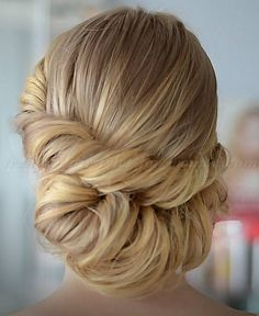 twisted low bun hairstyle