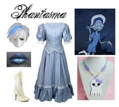 """""""Scooby Doo and the Ghoul School: Phantasma"""" by mangerlecole ❤ liked on Polyvore"""
