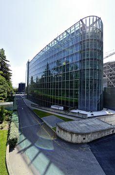 L'incroyable essor de Sécheron. L'OMM a construit un bâtiment pour le XXIe siècle. © Thierry Parel