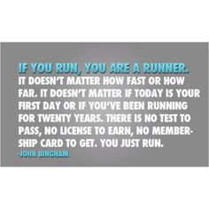 My favourite running quote.