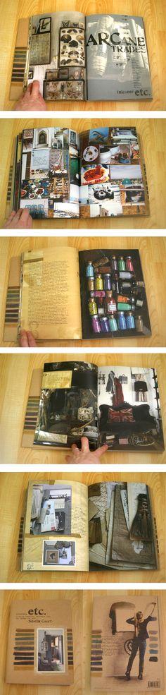 Sybella Court's book Etc.    Very sketchbooky