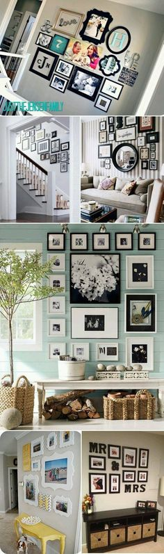 Love the colors and arrangement in the pic with the light blue wall