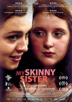 Wk 43 My skinny sister. Sensitive portrayal of eating disorders, seen through the eyes of a young girl who idolises her skinny sister but realises that all is not ok. Sensational performance by the young lead, though the script veers towards melodrama and other characters feel underdeveloped. 3.5 out of 5