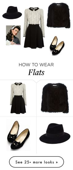 """""""Untitled #46"""" by unicornlovingirl on Polyvore featuring Oasis, Retrò, Givenchy and Maison Michel"""