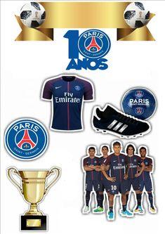 Psg, Soccer Birthday Parties, Football Birthday, Paris San German, Barcelona Soccer Party, Paris Saint Germain Fc, Football Themes, Champions League, Ideas Party