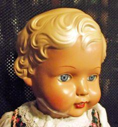 """Puppe Erika von """"Schildkröt"""", 46 cm, neu"""
