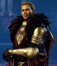 Cullen from Dragon Age:Inquisition. Definitely romancing him ;)