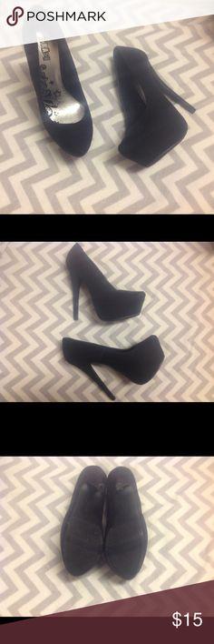 Brash hidden platform high heel Worn once, small mark on one platform shown in photos brash Shoes Heels